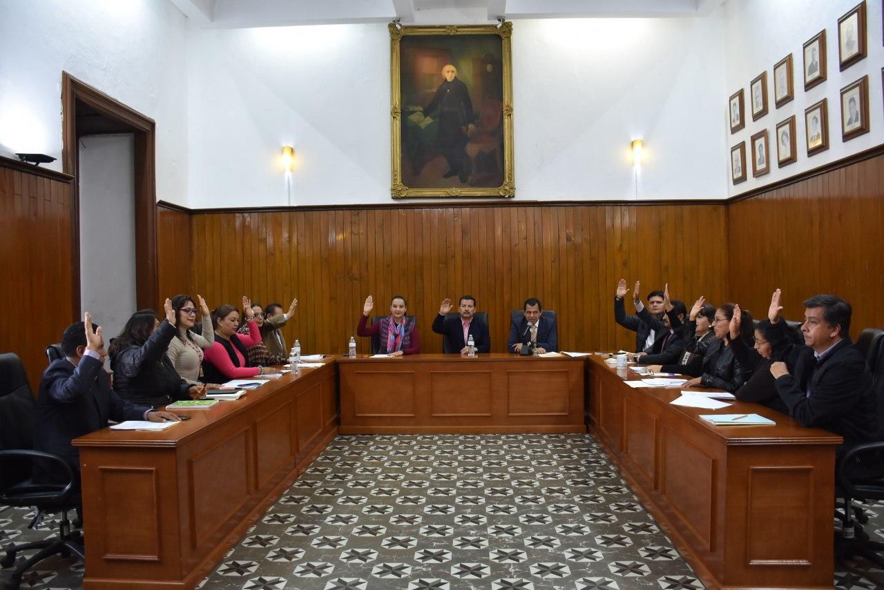 SIN INCREMENTO EN IMPUESTOS, APRUEBA CABILDO DE SAN PEDRO CHOLULA PROYECTO DE LEY DE INGRESOS PARA 2020