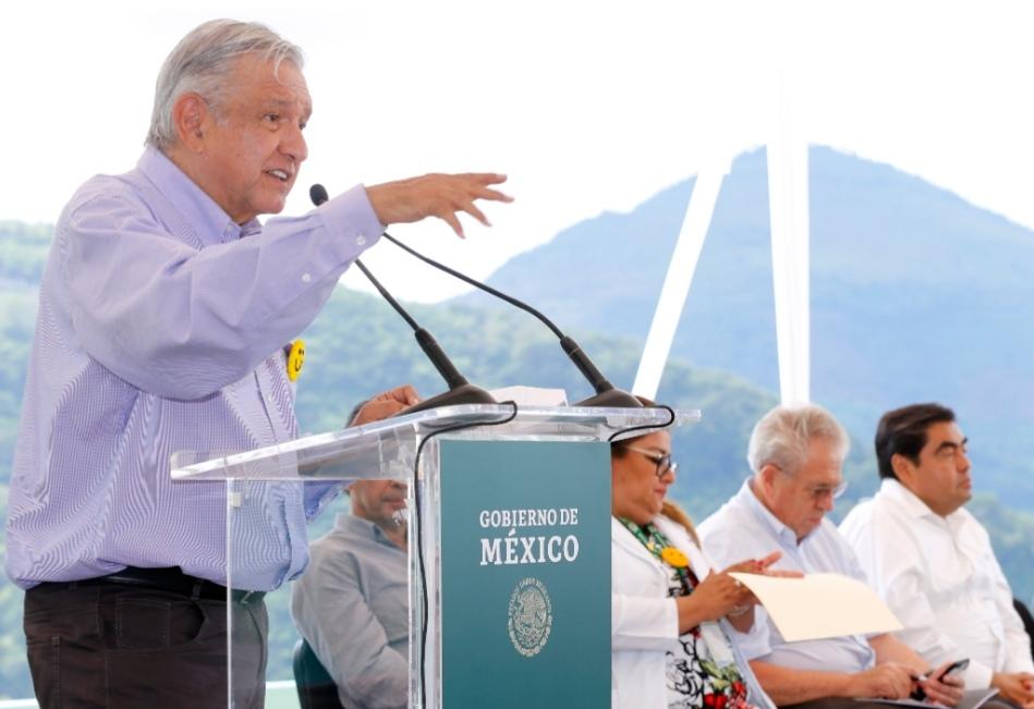 EL GOBIERNO FEDERAL NO DEJARÁ SOLO  AL GOBERNADOR BARBOSA: AMLO