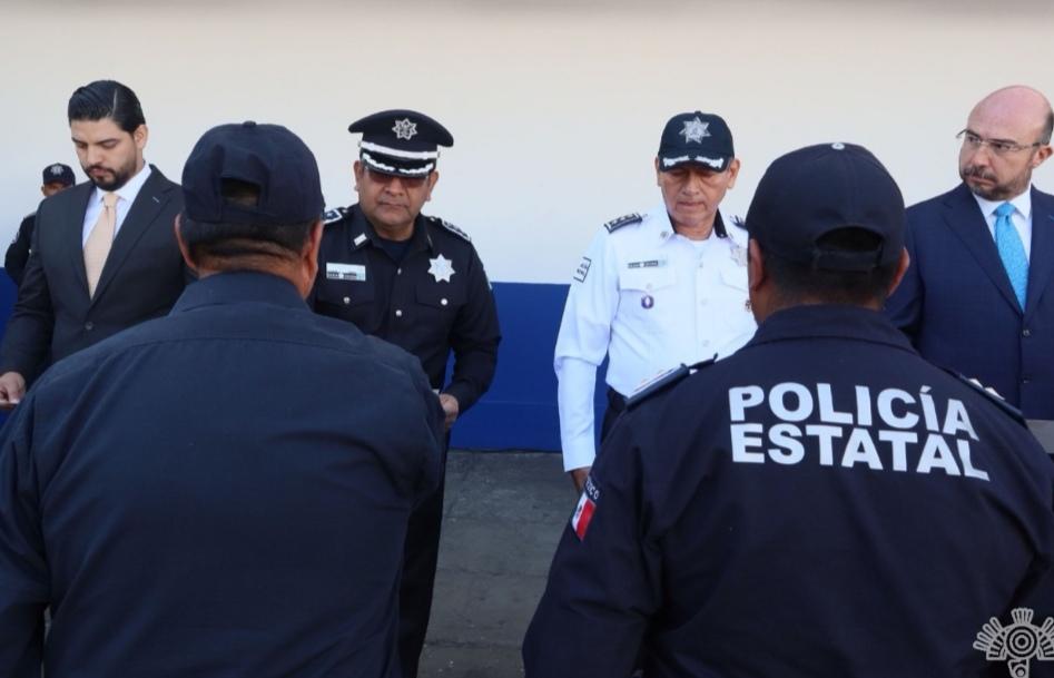 RECONOCEN EMPRESARIOS LABOR  DE LA POLICÍA ESTATAL