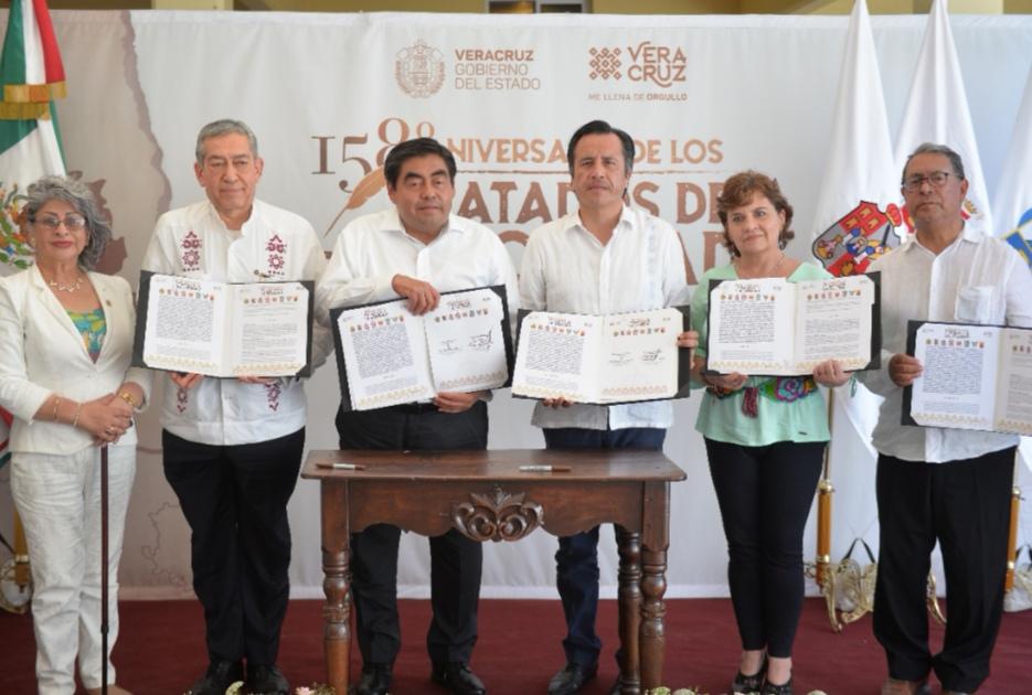 ASISTE EL GOBERNADOR MIGUEL BARBOSA A LA CEREMONIA CONMEMORATIVA DEL 158 ANIVERSARIO DE LA FIRMA DE LOS TRATADOS DE LA SOLEDAD