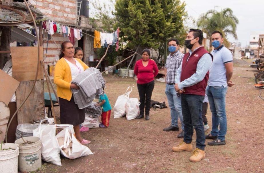 PROTECCIÓN CIVIL Y BIENESTAR DAN SEGUIMIENTO A FAMILIAS AFECTADAS POR LLUVIAS