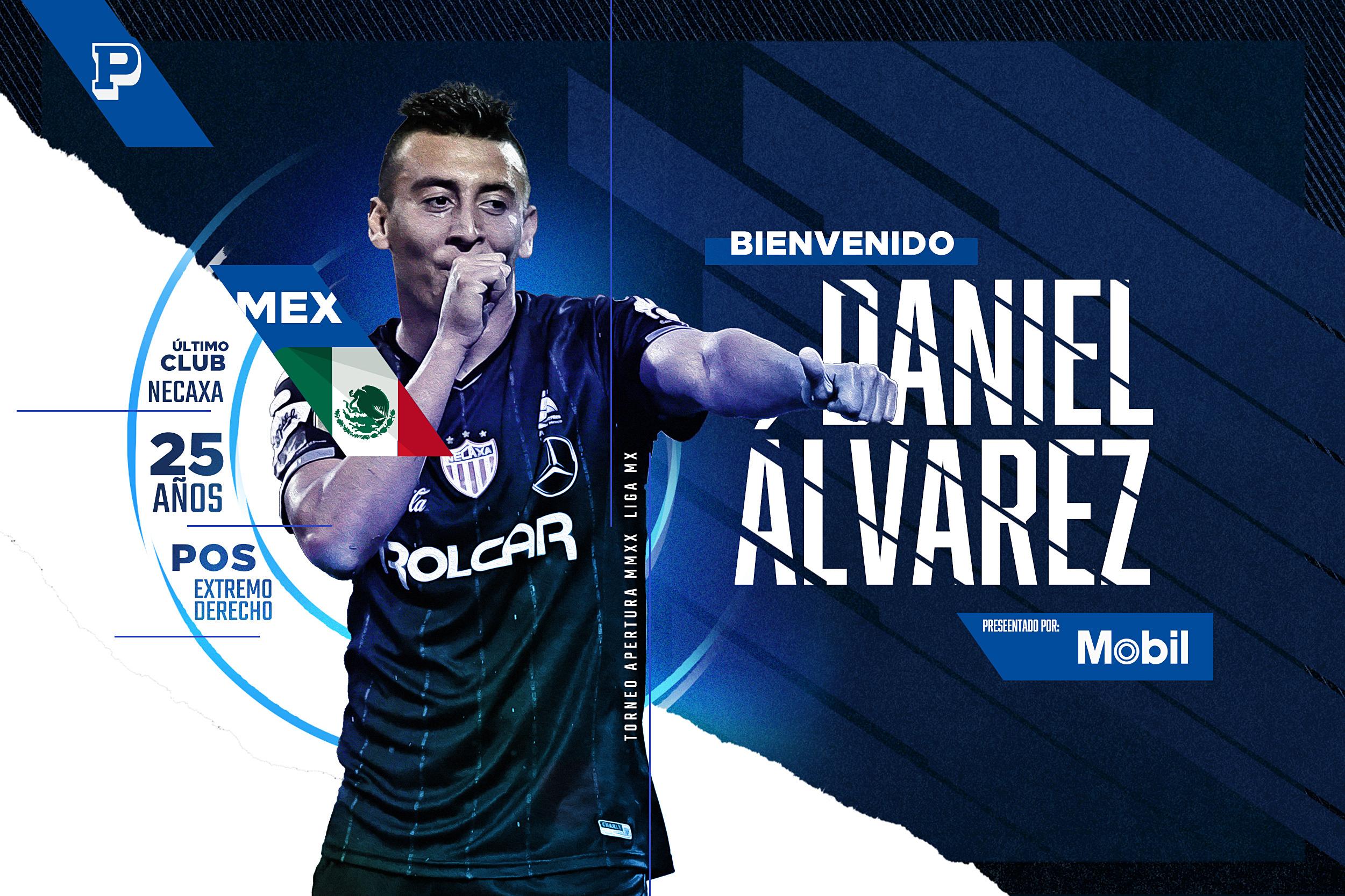 DANIEL ÁLVAREZ, NUEVO REFUERZO DEL CLUB PUEBLA