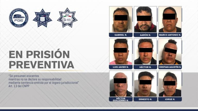 FISCALÍA PUEBLA Y POLICÍAS MUNICIPALES DESARTICULARON BANDA DE ROBO A TIENDA DEPARTAMENTAL