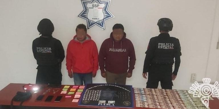 """DETIENE POLICÍA ESTATAL A DOS INTEGRANTES DE LA BANDA DE """"LA PATRONA """""""