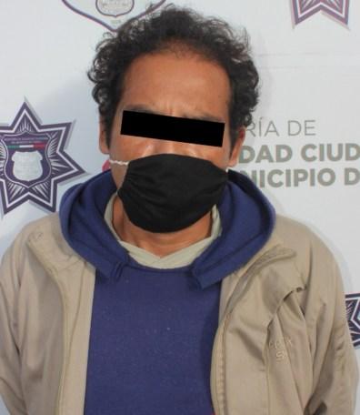 RECUPERÓ POLICÍA MUNICIPAL DE PUEBLA UN VEHÍCULO ROBADO; UN HOMBRE FUE DETENIDO