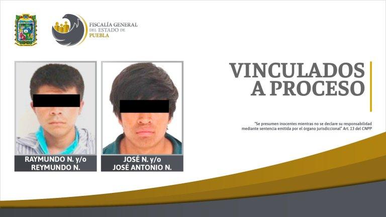 VINCULADOS A PROCESO POR ROBO Y DELITOS CONTRA LA SALUD