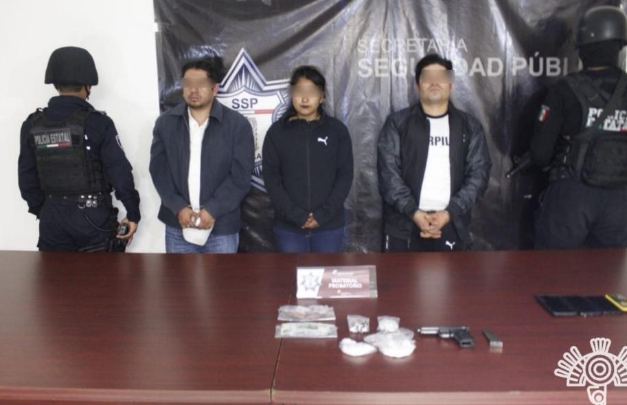 POLICÍA ESTATAL CAPTURA A LÍDER CRIMINAL QUE OPERABA EN MERCADOS DE LA CAPITAL POBLANA