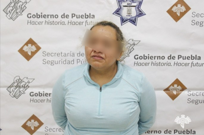 "CAPTURA POLICÍA ESTATAL A HERMANA DE ""LA PATRONA """