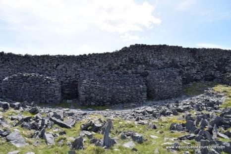 Back side of Black Fort