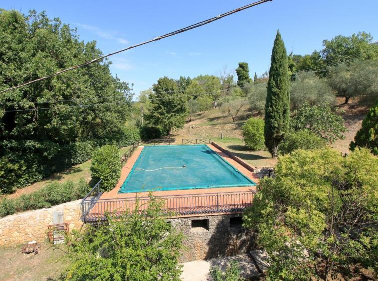19 - Giove - Villa con Piscina - Vista Terrazza