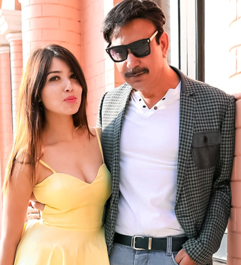 Pooja Sharma Nepali couple