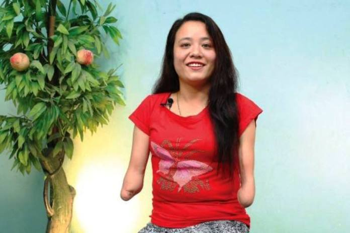 Glories Kamala Shrestha.