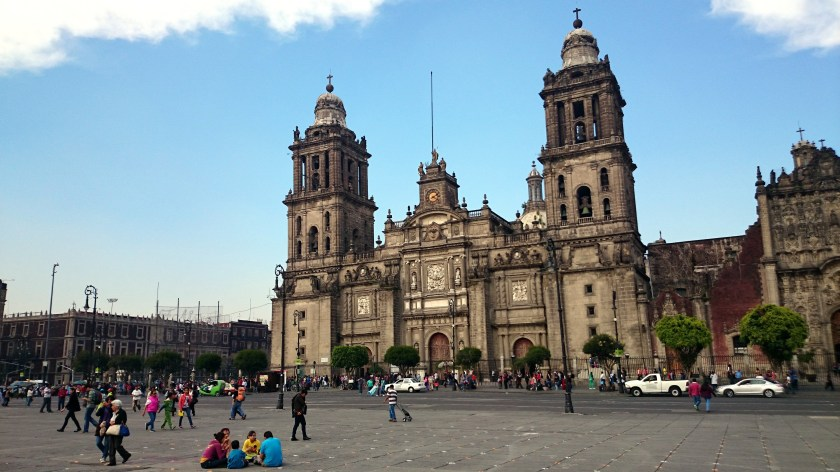 Image result for zocalo mexico city