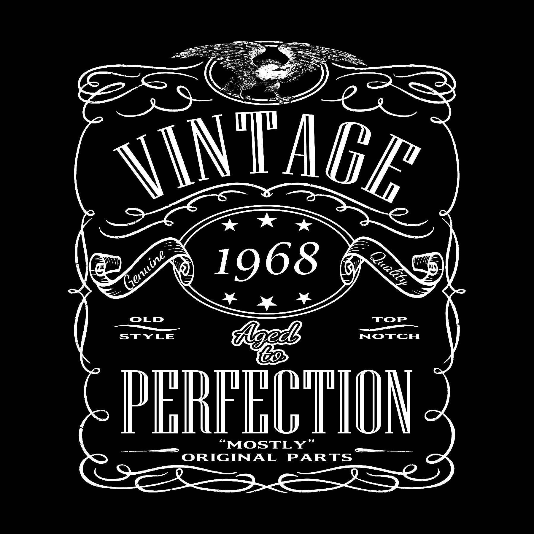 50th Birthday Shirt - Born in 1968 Birthday Shirt - 50th Birthday Gift -  Birthday Gift For 50th Birthday - Husband Gift - Dad Gift - Grandpa