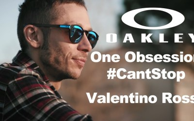 Oakley – official sponsor of Valentino Rossi