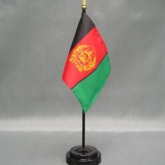 "Afghanistan-4"" x 6"" Desk Flag-0"