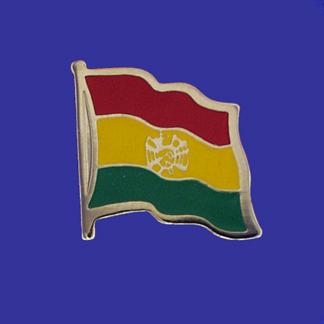 Bolivia Lapel Pin-0