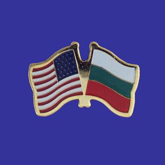 USA+Bulgaria Friendship Pin-0
