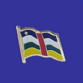 Central Africa Republic Lapel Pin-0