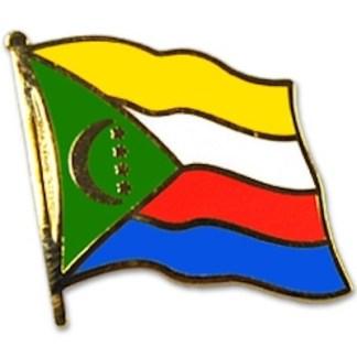 Comoros Lapel Pin -0