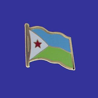 Djibouti Lapel Pin-0