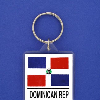 Dominican Republic Keychain-0