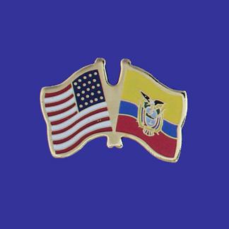 USA+Ecuador Friendship Pin-0