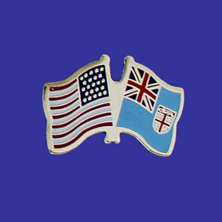 USA+Fiji Friendship Pin-0
