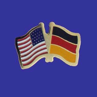USA+Germany Friendship Pin-0