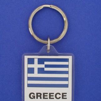 Greece Keychain-0