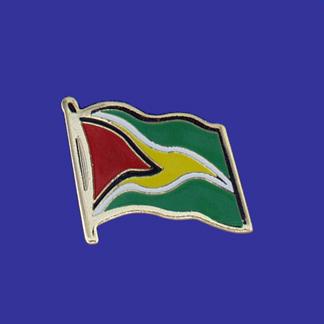 Guyana Lapel Pin-0