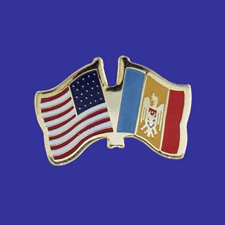 USA+Moldova Friendship Pin-0
