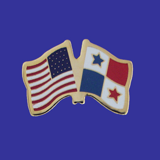 USA+Panama Friendship Pin-0