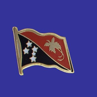 Papau New Guinea Lapel Pin-0