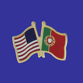 USA+Portugal Friendship Pin-0