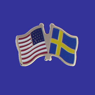 USA+Sweden Friendship Pin-0
