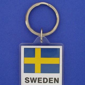 Sweden Keychain-0