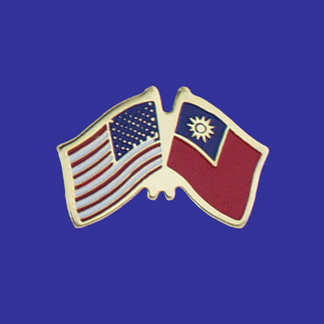 USA+Taiwan Friendship Pin-0