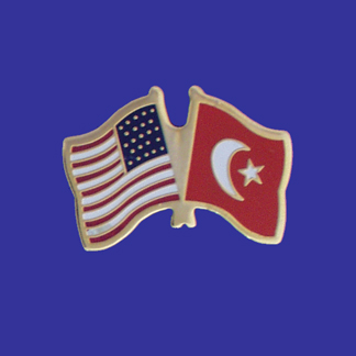 USA+Turkey Friendship Pin-0