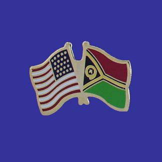 USA+Vanuatu Friendship Pin-0