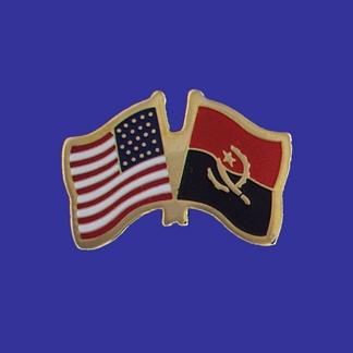 USA+Angola Friendship Pin-0