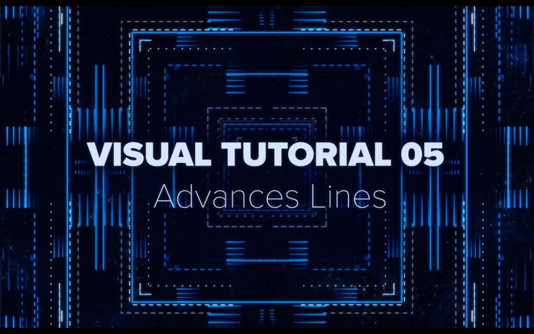 VISUAL TUTORIAL 05 – Advanced Lines