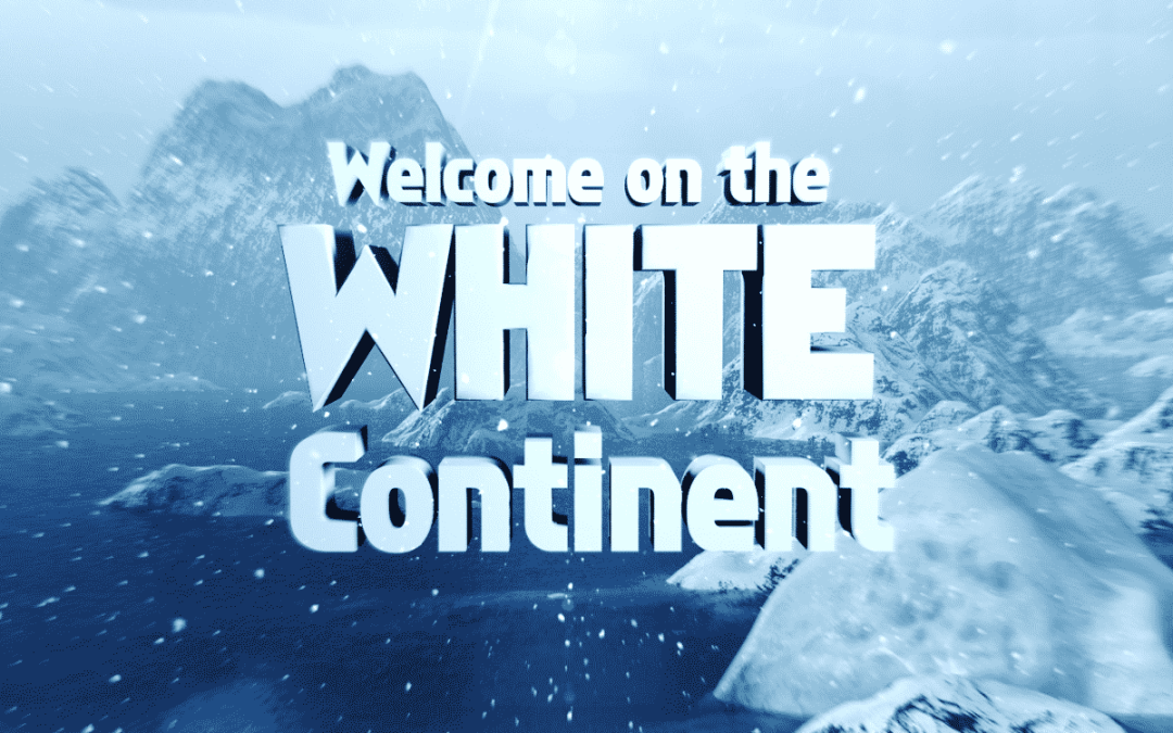 THE WHITE CONTINENT – Visual Intro Design