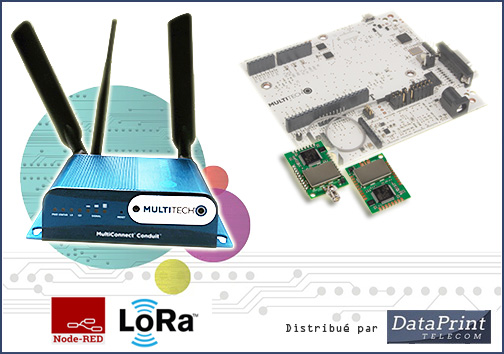 starter kit MultiTech mDot LoRa
