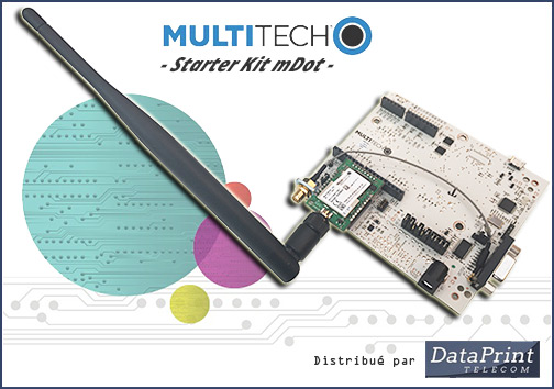 Extension LoRa pour passerelle MultiTech MultiConnect Conduit