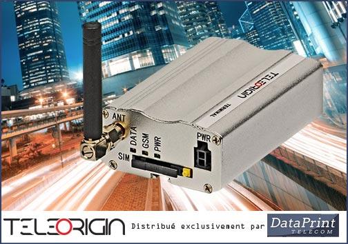 modems GSM TeleOrigin distribués par DataPrint