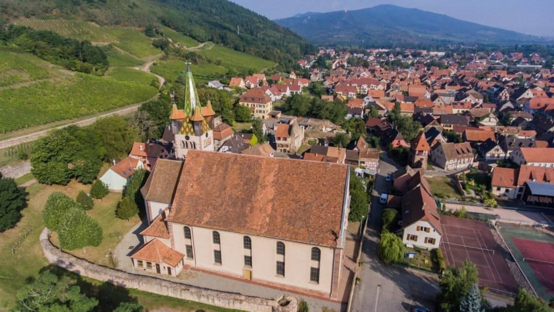 dudelange chapelle château GR5 section 1