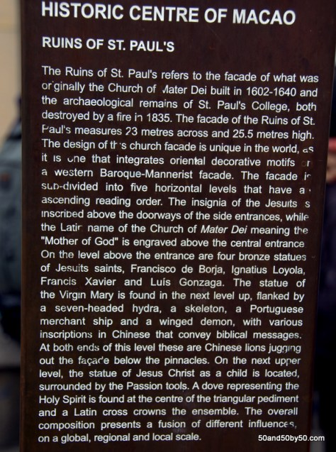 The story of the Ruins of the Church of St Paul in Macau