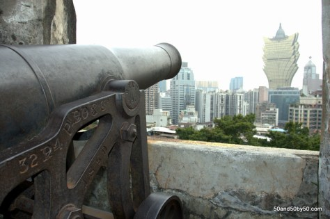 looking out from Monte Fort for your Macau day trip