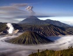 Gungung Bromo volcano
